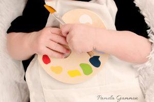 Newborn Artist Photography
