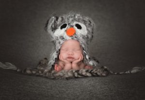 Ohio Newborn Photography Froggy Pose