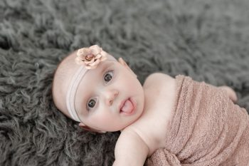 Charlotte | 6 Months Baby Pictures