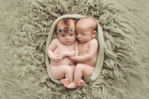 Southern Ohio Twin Newborn Pictures