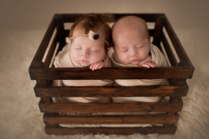 Portsmouth OH Newborn Twin Photography