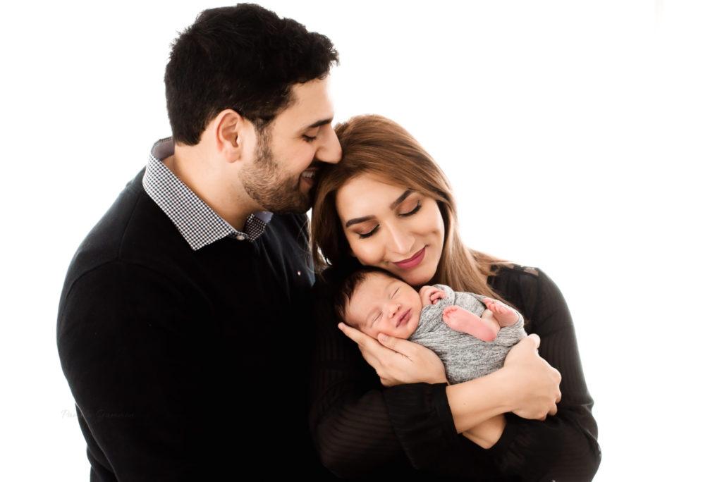 Newborn Family Posing Ohio Photography