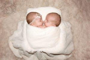 Welcome Pendergrast Twins Layla & Logan | Celebrity Newborn Photographer KY