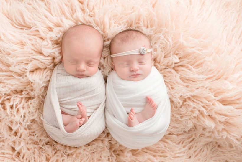 Ohio Twin Newborn Session | Welcome To The World Addison and Owen