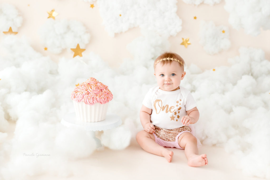 Twinkle Twinkle Little Star Cake Smash Session KY