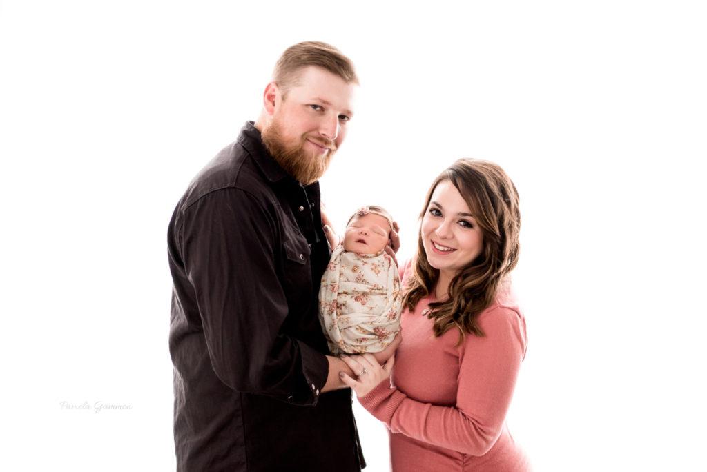 Ohio Newborn Girl Photography