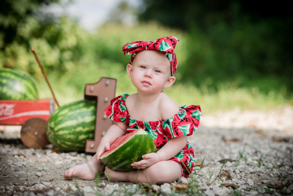 Watermelon Smash Session Kentucky Photography